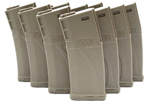 Guarder BLUEBOX 140rd Magazine for M16/M4 AEG (10pcs, Dark Earth)