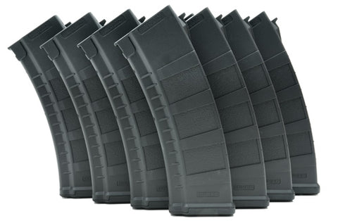 Guarder BLUEBOX 155rd Magazine For AK AEG  (10pcs, Black)