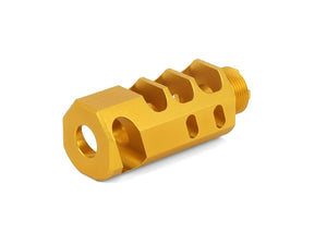 "Airsoft Masterpiece 2"" Compensator Type 8 - (Gold)"