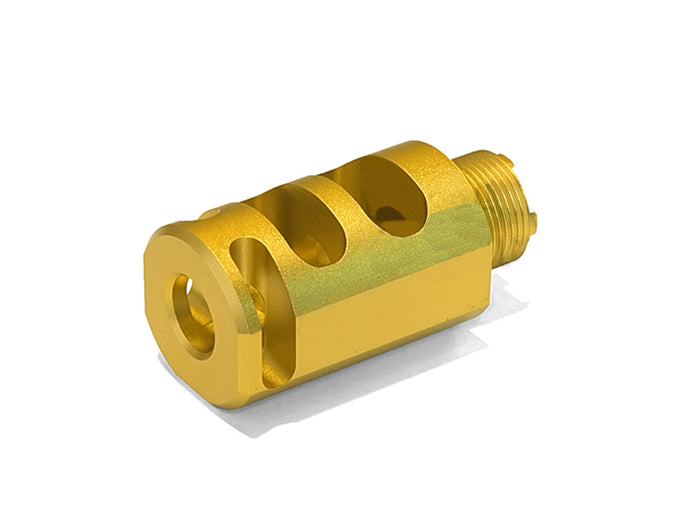 "Airsoft Masterpiece 1.5"" Compensator Type 1 - Gold"