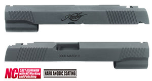 Guarder Aluminum Slide for MARUI HI-CAPA 5.1 (Kimber/Black)