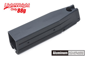 Guarder Aluminum Magazine Case for MARUI HI-CAPA 5.1 (No Marking/Black)