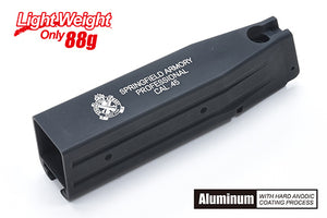 Guarder Aluminum Magazine Case for MARUI HI-CAPA 5.1 (Springfield/Black)