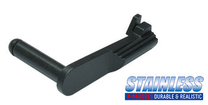 Guarder Stainless Slide Stop for MARUI DETONICS .45 (Black)