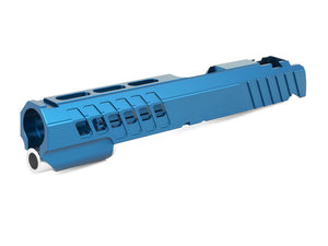 "EDGE Custom ""ANA"" Aluminum Standard Slide for Hi-CAPA/1911 (Blue)"