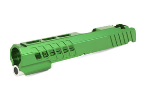 "EDGE Custom ""ANA"" Aluminum Standard Slide for Hi-CAPA/1911 (Green)"