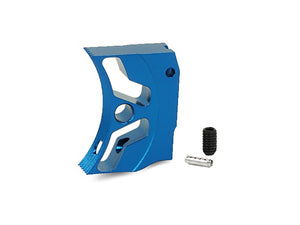 "EDGE Custom ""S1"" Aluminum Trigger for Hi-CAPA/1911 (Blue)"