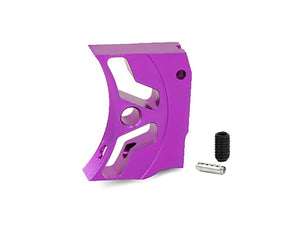 "EDGE Custom ""S1"" Aluminum Trigger for Hi-CAPA/1911 (Purple)"