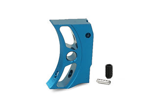 "EDGE Custom ""S2"" Aluminum Trigger for Hi-CAPA/1911 (Blue)"