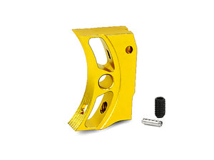 "EDGE Custom ""S2"" Aluminum Trigger for Hi-CAPA/1911 (Gold)"