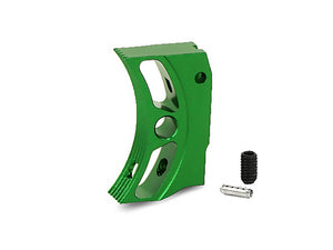 "EDGE Custom ""S2"" Aluminum Trigger for Hi-CAPA/1911 (Green)"