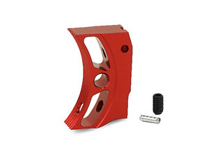 "EDGE Custom ""S2"" Aluminum Trigger for Hi-CAPA/1911 (Red)"