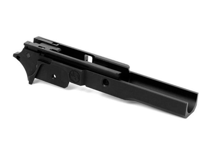 Airsoft Masterpiece Aluminum Advance Frame - New Infinity Logo (Black)