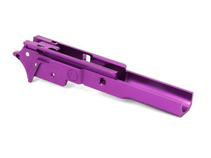 Airsoft Masterpiece Aluminum Advance Frame - New Infinity Logo (Purple)
