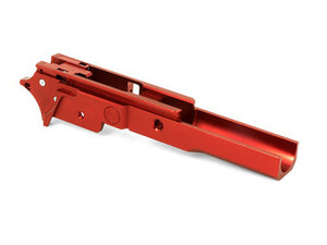 Airsoft Masterpiece Aluminum Advance Frame - New Infinity Logo (Red)