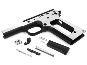 Airsoft Masterpiece STI 1911 Round Trigger Guard Aluminum Frame (Two Tone)