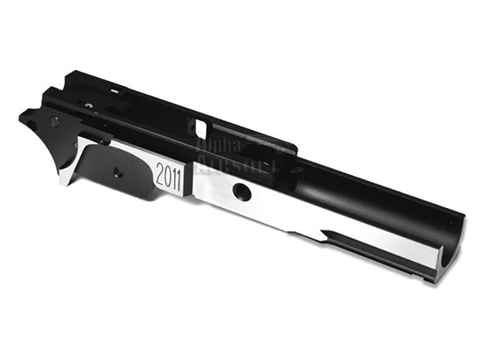 Airsoft Masterpiece Aluminum Frame - STI 3.9 with Tactical Rail (Two Tone)