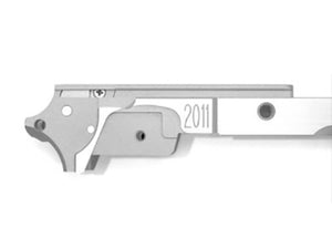 Airsoft Masterpiece Aluminum Advance Frame for Hi-CAPA 4.3 - STI (Silver)