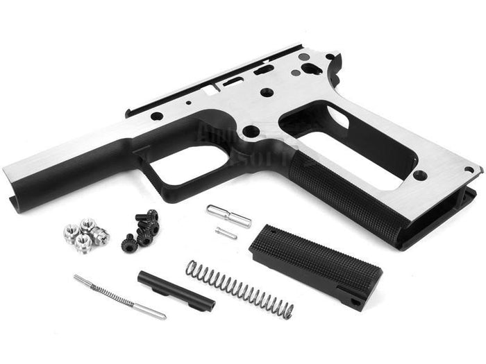 Airsoft Masterpiece STI 1911 Square Trigger Guard Aluminum Frame (Two Tone)