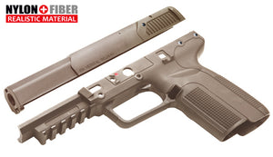 Guarder Enhanced Slide/Frame Set for MARUI FN57 GBB (FDE-2019 New Ver.)*