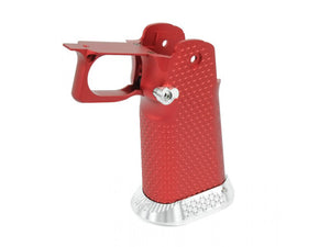 Airsoft Masterpiece Aluminum Grip for Hi-CAPA Type 1 (Red)