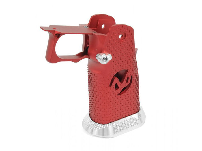 Airsoft Masterpiece Aluminum Grip for Hi-CAPA Type 2 (Red)