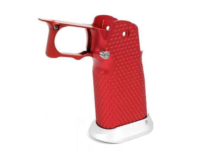 Airsoft Masterpiece Aluminum Grip for Hi-CAPA Type 3 (Red)