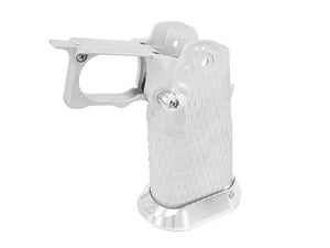 Airsoft Masterpiece Aluminum Grip for Hi-CAPA Type 9 (Silver)