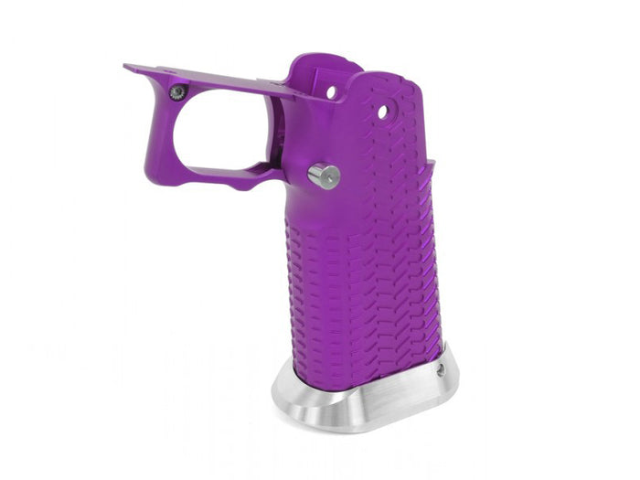 Airsoft Masterpiece Aluminum Grip for Hi-CAPA Type 11 (CK Ver. with STI Mag Release) Purple