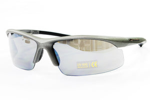 Guarder C6 Polycarbonate Sport Glasses - Metal Gray