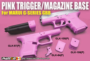 Guarder G-Series GBB Magazine Base (Extension/Pink)