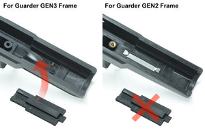 Guarder Series No. Tag Set for MARUI G34 (Early Type)
