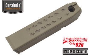 Guarder Aluminum Magazine Case for MARUI G17/18C/22/34 (9mm/Cerakote FDE)