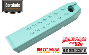 Guarder Aluminum Magazine Case for MARUI G17/18C/22/34 (9mm/Robin Egg Blue)