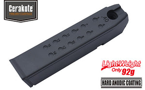 Guarder Aluminum Magazine Case for MARUI G17/18C/22/34 (.40/Black)