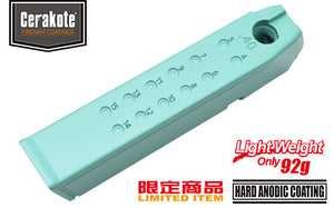 Guarder Aluminum Magazine Case for MARUI G17/18C/22/34 (.40/Robin Egg Blue)
