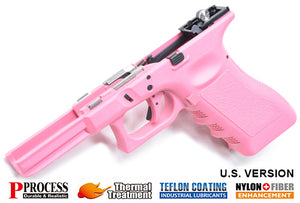 Guarder New Generation Frame Complete Set for MARUI G17/22/34 (U.S. Ver./Pink)