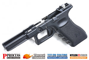 Guarder New Generation Frame Complete Set for MARUI G17/22/34 (G4-Style/Black)