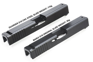 Guarder Steel CNC Slide for MARUI G19 (Black)