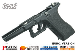 Guarder New Generation Frame Complete Set for MARUI G17/22/34 (GEN.II/Euro. Ver./Black)