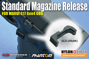 Guarder Standard Magazine Release for MARUI G17 Gen4