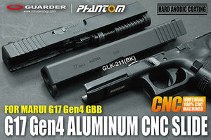 Guarder Aluminum CNC Slide for MARUI G17 Gen4 (Black)