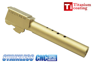 Guarder Stainless Outer Barrel for MARUI G18C (Titanium Gold)