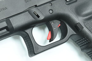 Guarder Ridged Trigger For G-Series GBB (BLACK/RED)