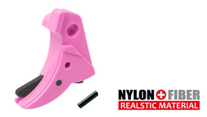 Guarder Ridged Trigger For G-Series GBB (Pink)