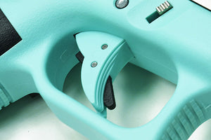 Guarder Ridged Trigger For G-Series GBB (Robin Egg Blue)