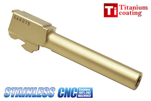 Guarder Aluminum CNC Titanium Golden Outer Barrel for TM G17