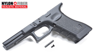 Guarder New Gen. Frame for MARUI/KJ/WE/VFC/STARK/UMAREX G17/18C/22/34 (G-Style/Black)