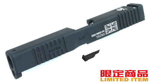 Guarder Aluminum Slide for MARUI G17 TF-141 (Black)