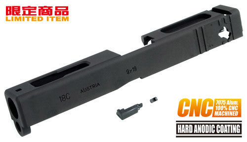 Guarder 7075 Aluminum CNC Slide for TM G18C (Black)